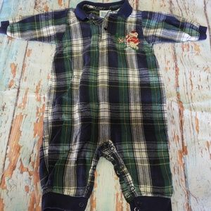 Other - Size 6-9 Month Plaid Christmas Romper